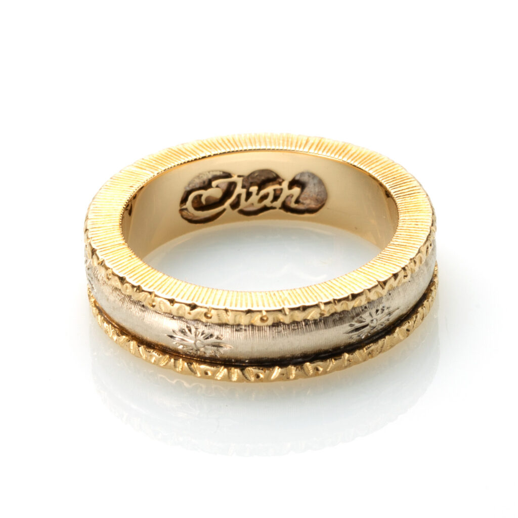 anello fidanzamento artigianale