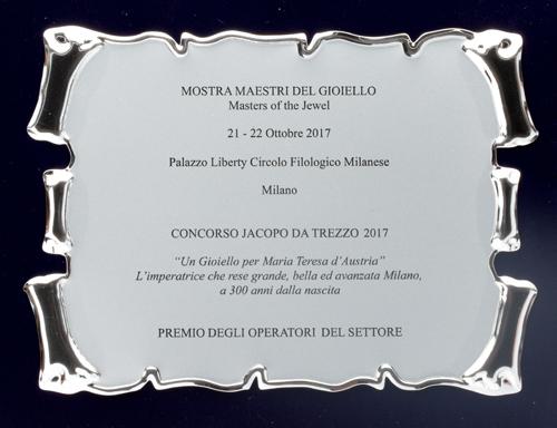 Award Italian jewelry design